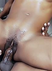 Dirty black girl Diva Devine sucks and fucks a cock and fulfills her wildest sexual fantasy live